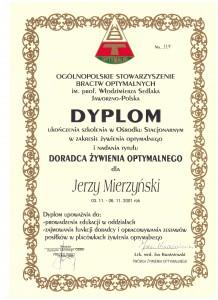 DYPLOM DORADCY Ż.O.